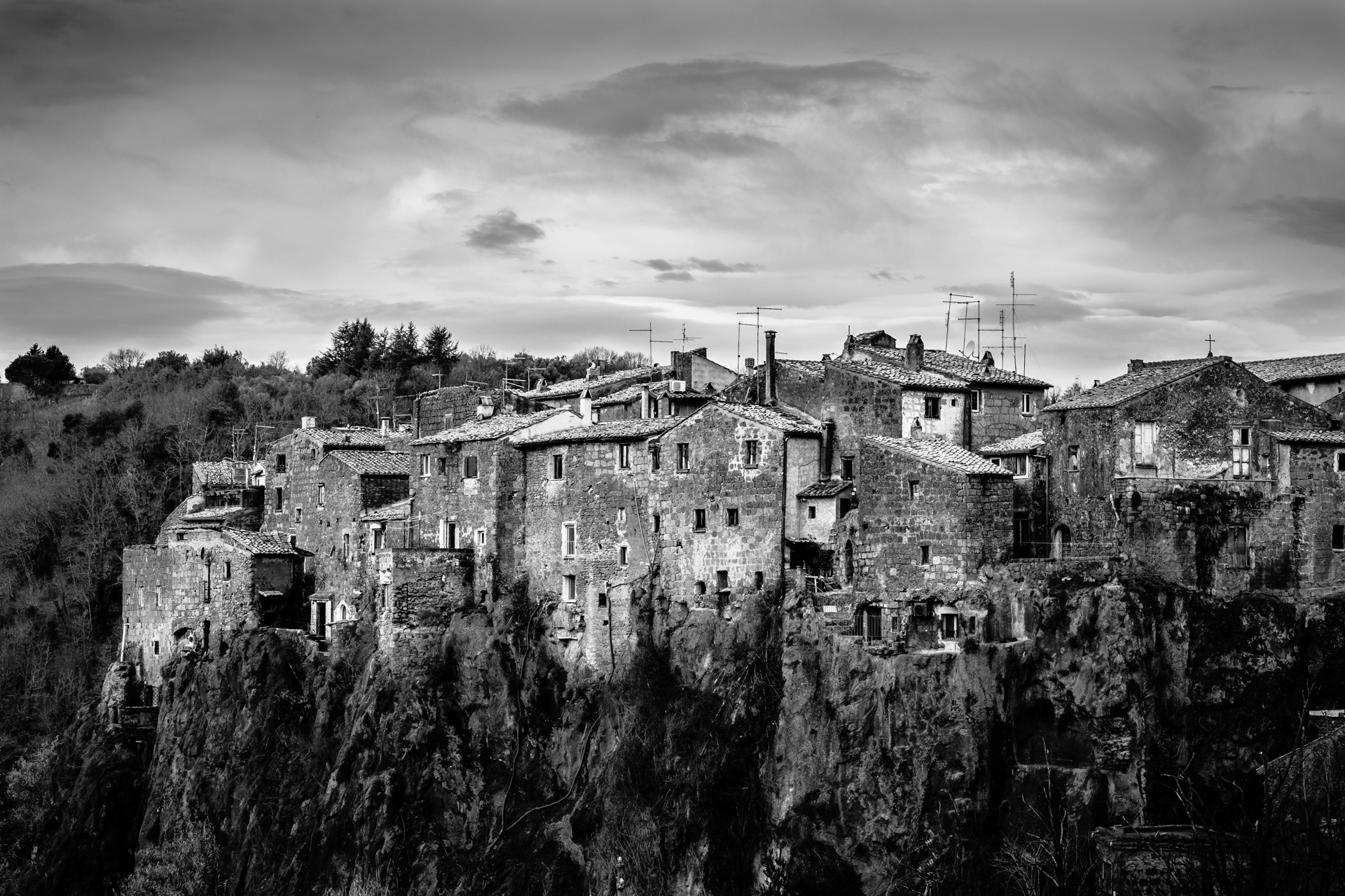 Calcata, a curious village